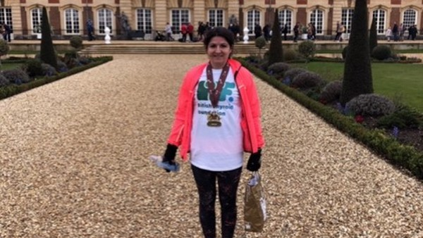 Louise's Hampton Court Marathon