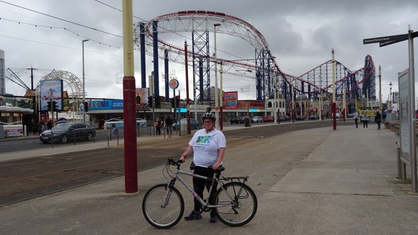 Donna Partington -  Big Bike Ride
